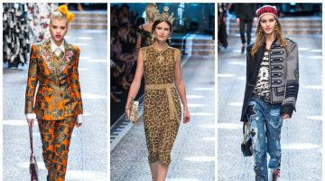 Dolce & Gabbana Ushers in a New Renaissance for Fall 2017