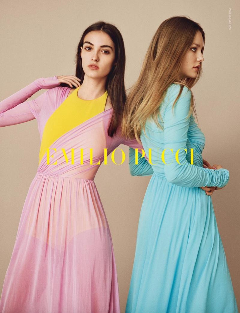 Emilio Pucci unveils spring-summer 2017 campaign