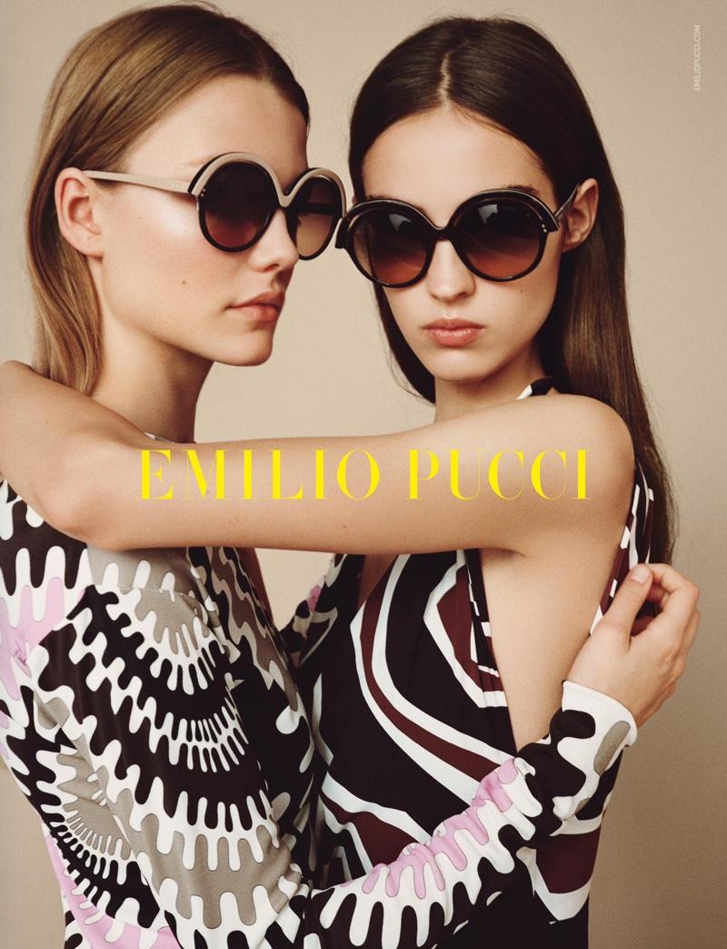 Emilio Pucci Eyewear spring-summer 2017 advertising campaign