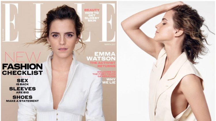 Emma Watson Stars in ELLE UK, Opens Up About Playing Belle