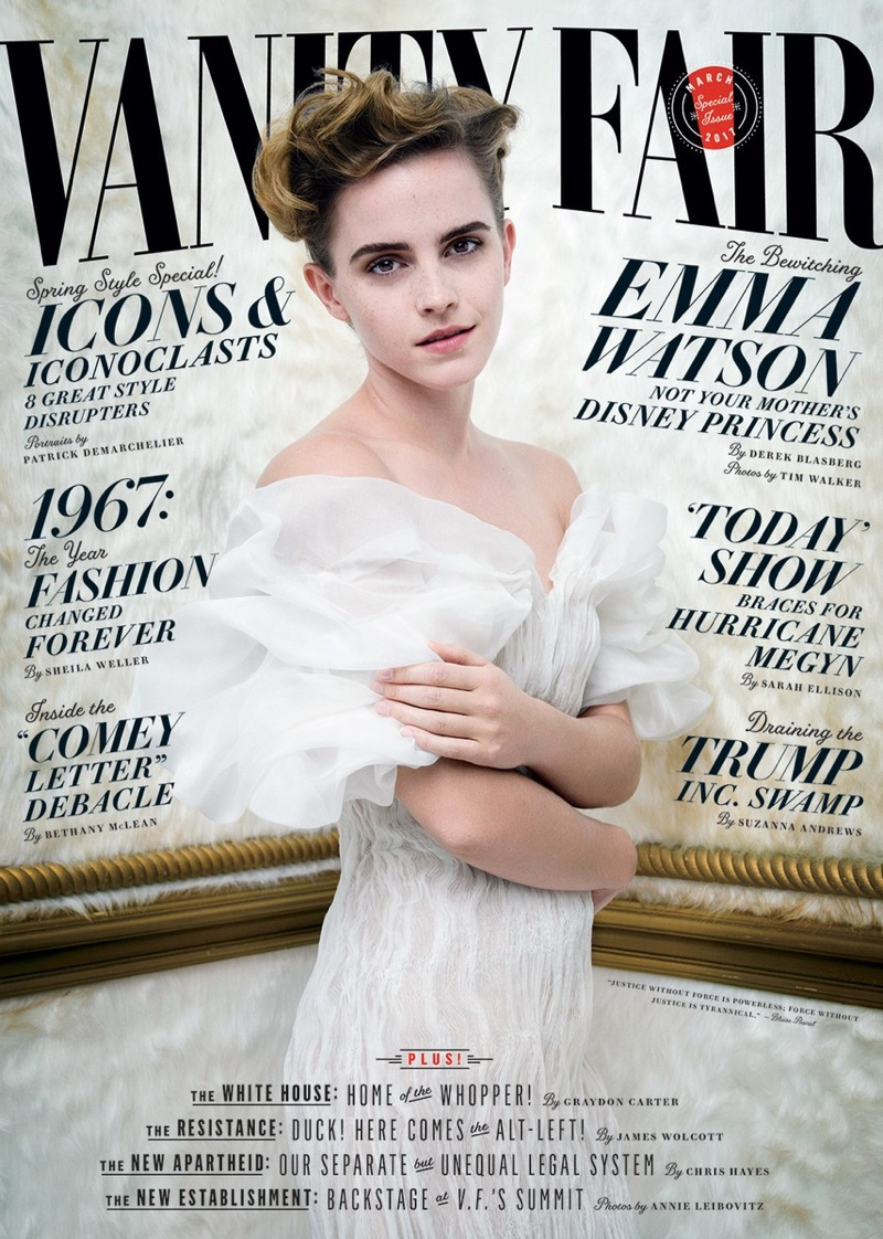 Emma Watson on Vanity Fair March 2017 Cover