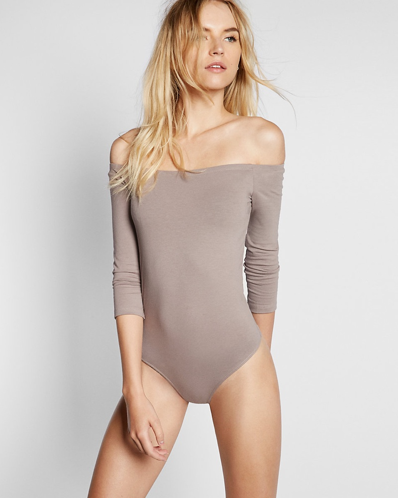 Wish List: Express' Off-the-Shoulder Bodysuit