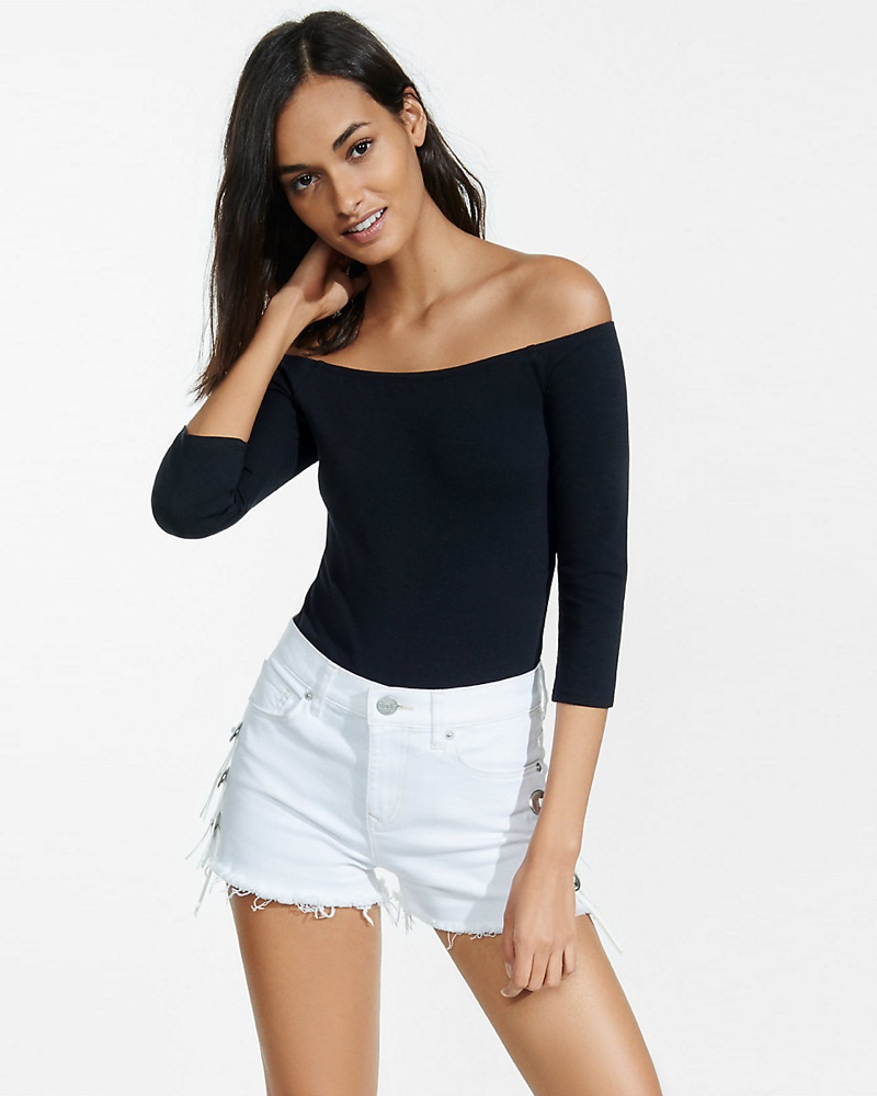 The One Eleven Off-the-Shoulder Bodysuit is all about comfort 3c7340d3c