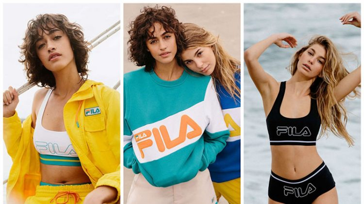 FILA x Urban Outfitters spring-summer 2017