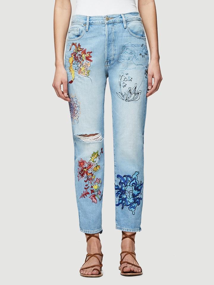FRAME Sasha P Le Original Jeans in Bushwick