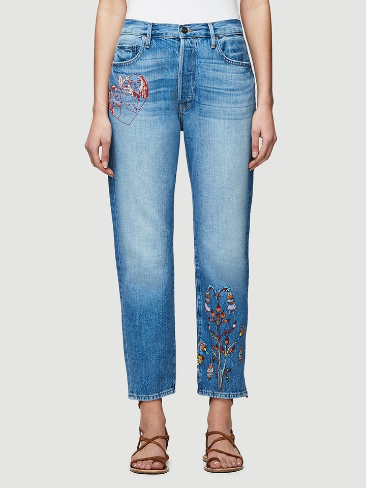 FRAME Sasha P Le Original Jeans in Williamsburg