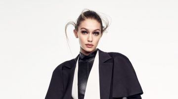 Gigi Hadid Poses in Fashion Forward Looks for Vogue China