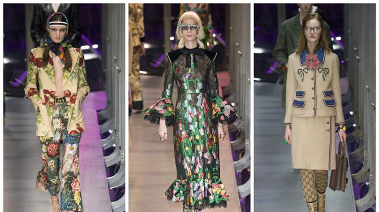 Gucci Enters the Garden for Fall 2017