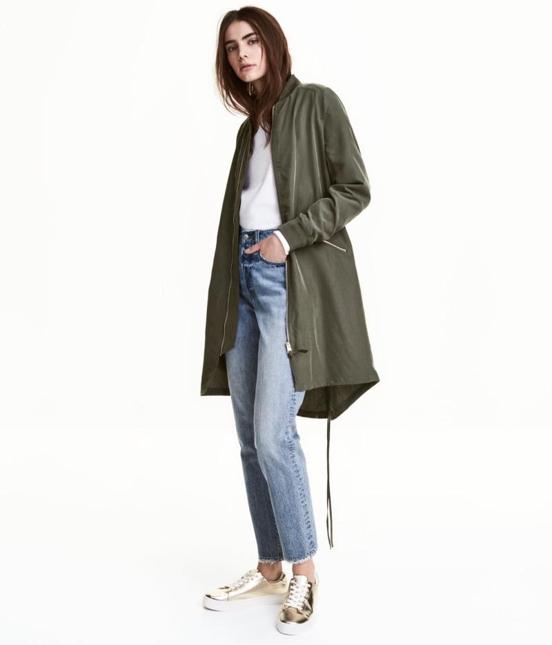 H&M serves up the perfect lightweight parka