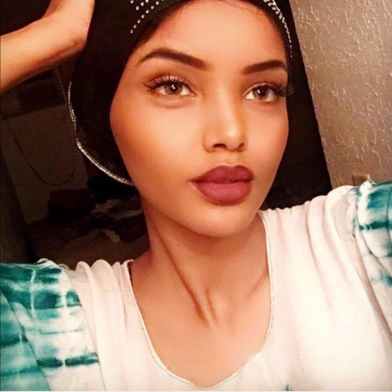 Hijabi model Halima Aden. Photo: Instagram