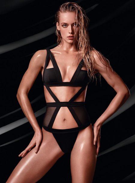 Hannah Ferguson Rocks Swimwear in Smoldering Lexus Campaign