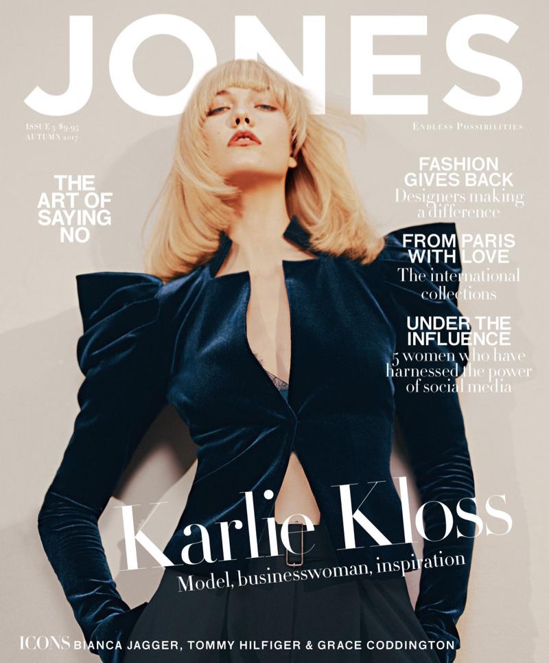 Karlie Kloss on Jones Magazine Autumn-Winter 2017 Cover