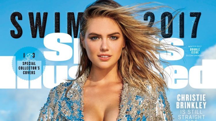 Kate Upton on Sports Illustrated 2017 Swimsuit Issue Cover