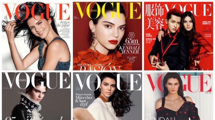 Cover girl! Kendall Jenner's Vogue Magazine covers