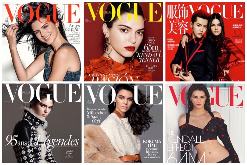 Keeping Up with Kendall Jenner's Vogue Covers