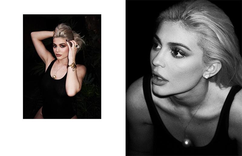 Kylie Jenner wears black bodysuit
