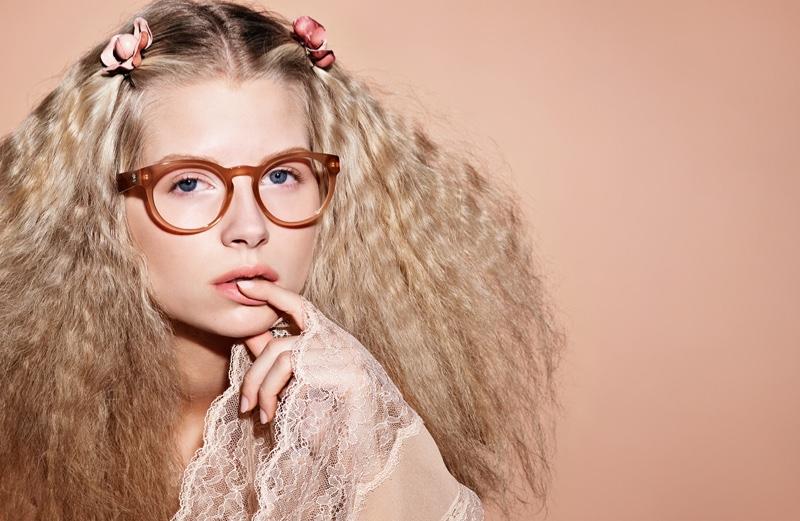 Lottie Moss stars in Chanel Eyewear's spring-summer 2017 campaign