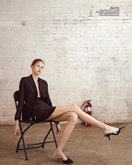 Natalie Westling Charms in Dior for Vogue Korea