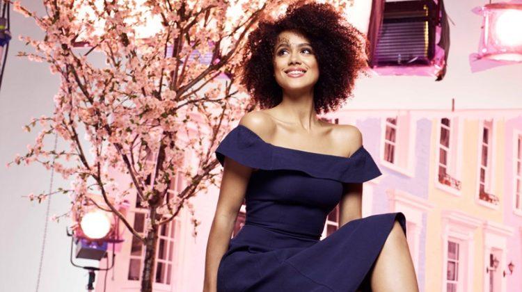 Game of Thrones star Nathalie Emmanuel fronts Dune London's spring-summer 2017 campaign