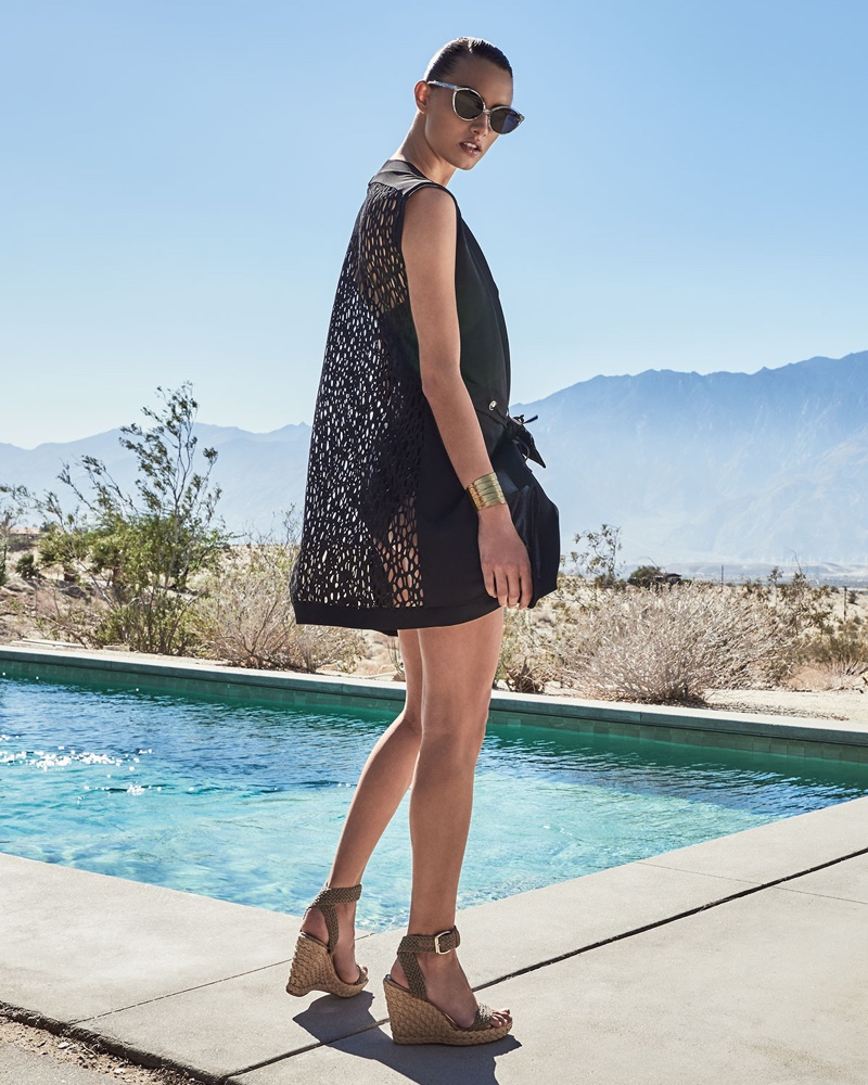 Shan Go West Coverup Vest