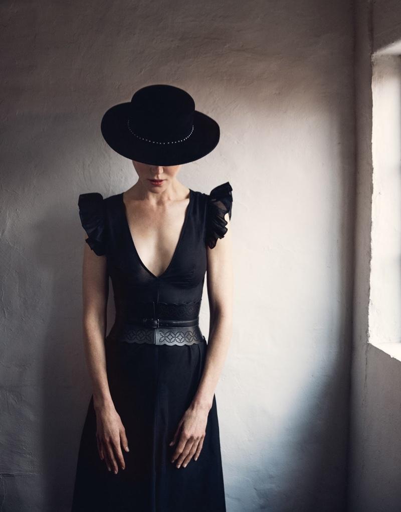 Nicole Kidman Poses in Elegant Looks for The Edit