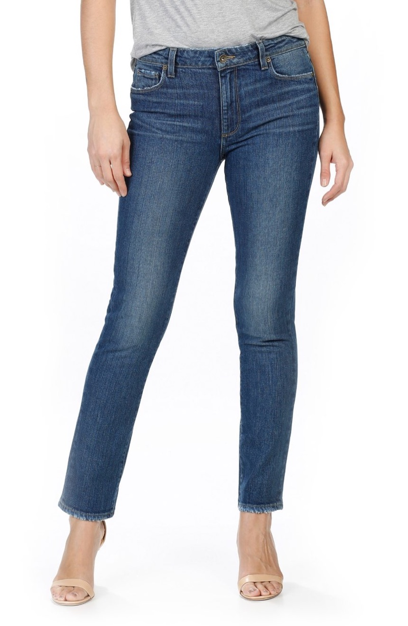 PAIGE Julia Straight Leg Jeans (James)