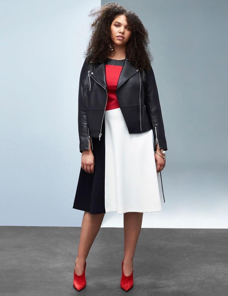 Prabal Gurung x Lane Bryant Leather Jacket
