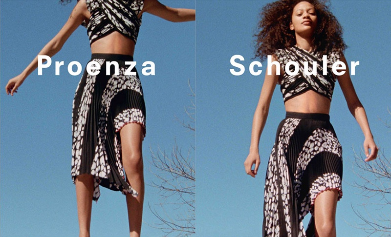 Proenza Schouler Goes Into Free Fall for Spring 2017 Campaign