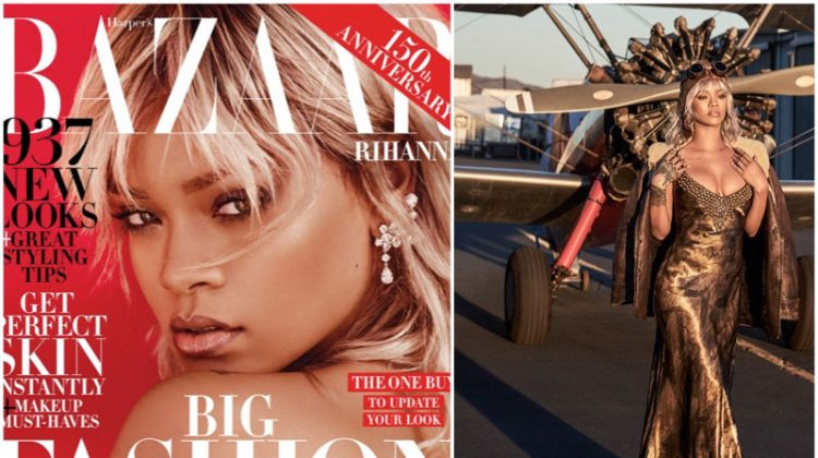 Rihanna Takes Flight in Harper's Bazaar Cover Shoot