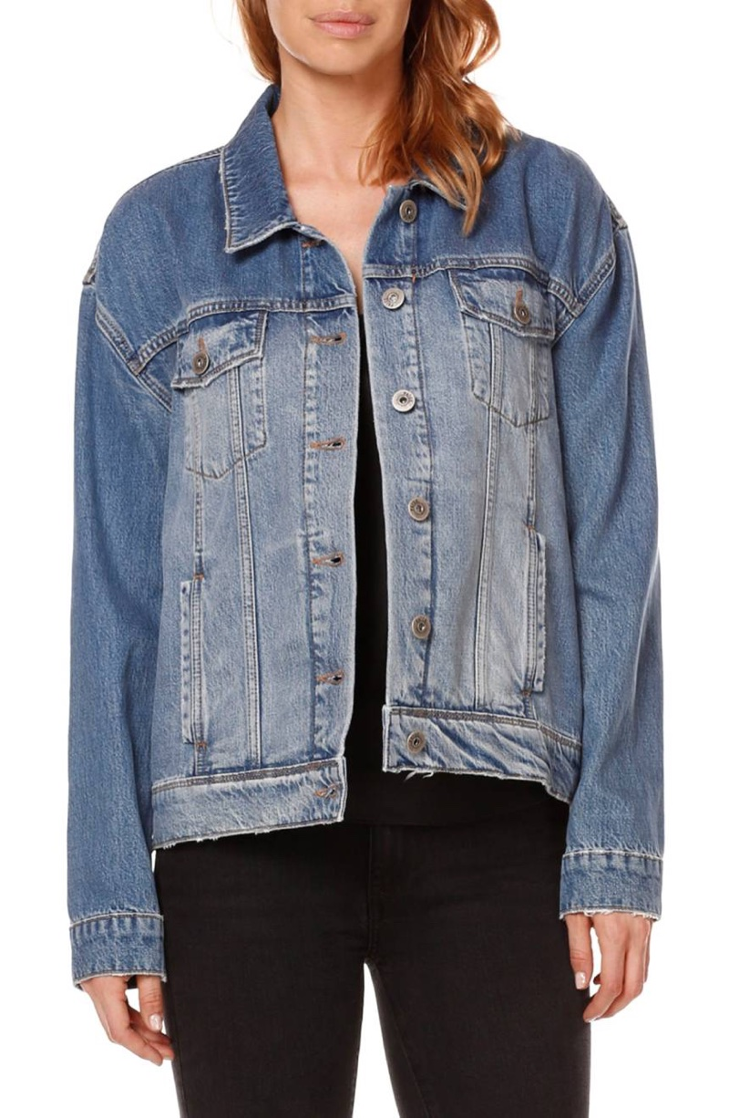 Rosie HW x Paige Josephine Denim Jacket $279