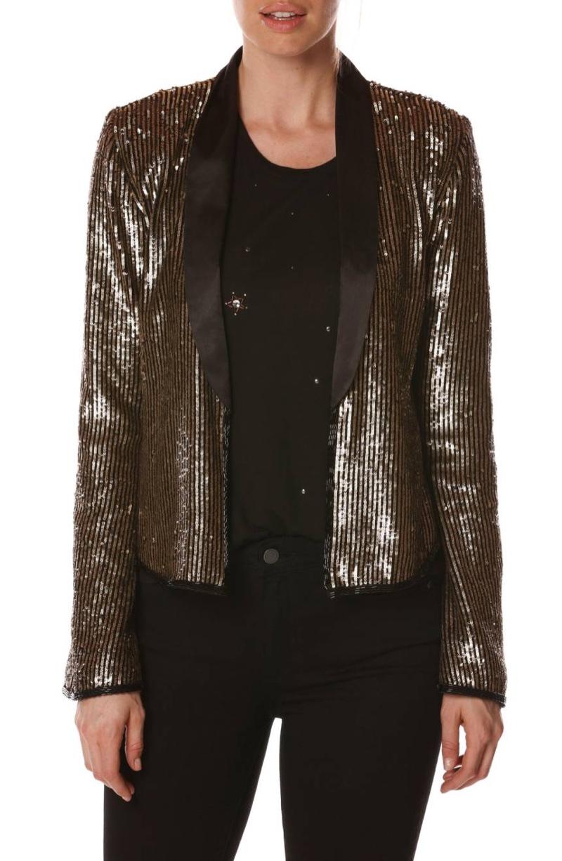 Rosie HW Paige Kate Tuxedo Jacket $545