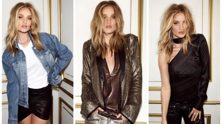 Rosie Huntington-Whiteley x PAIGE clothing collaboration