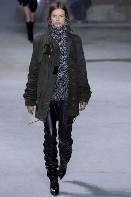 Saint Laurent's Rock & Roll Attitude for Fall 2017