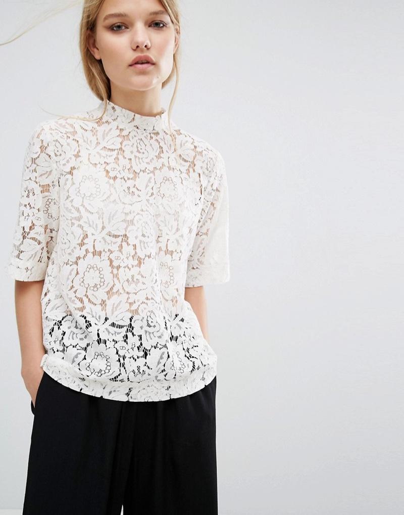 Samsoe & Samsoe creates the perfect lace top