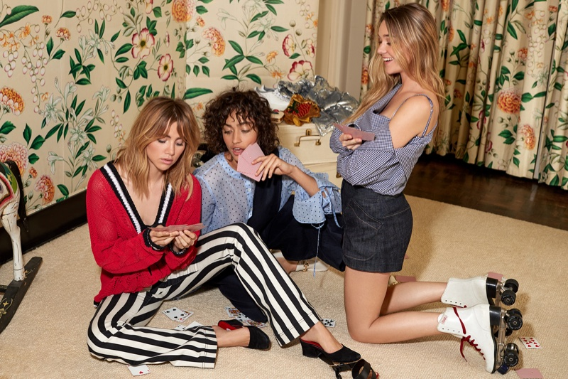 An image from Shopbop's spring 2017 campaign