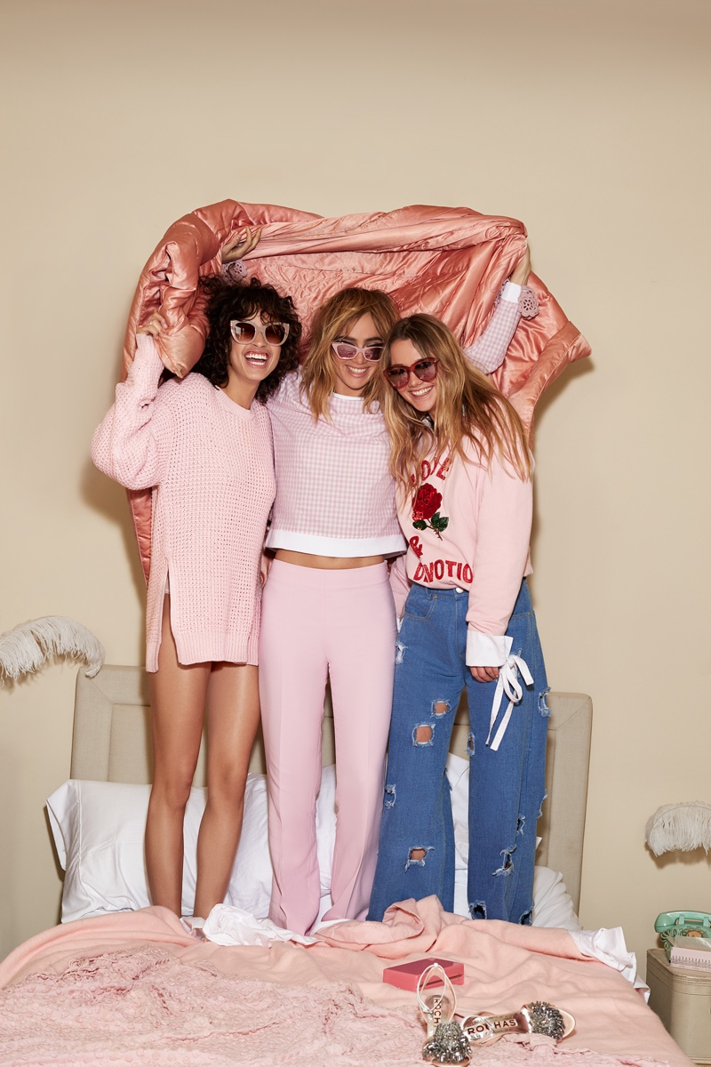 Shopbop features pink styles for its spring 2017 campaign