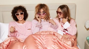 Suki Waterhouse Looks Pretty in Pink for Shopbop's Spring 2017 Campaign