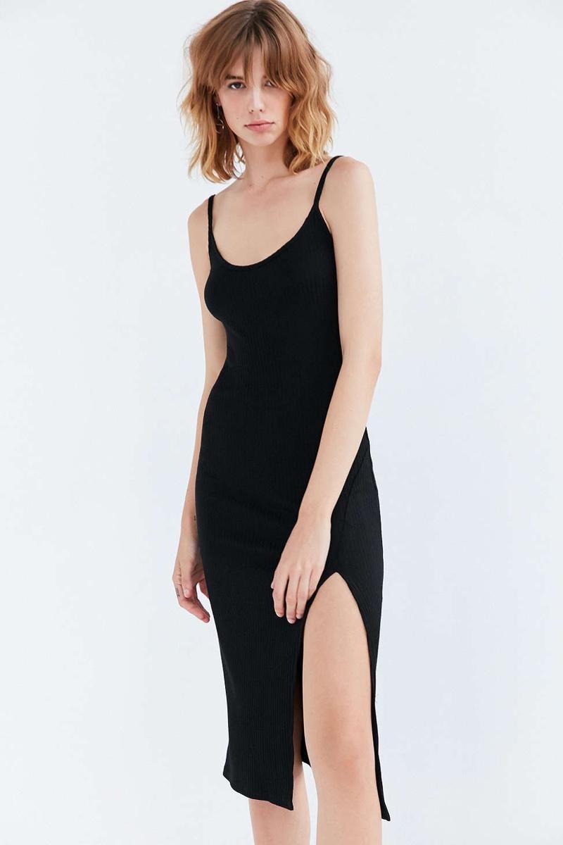 Wish List: A Classic Slip Dress with a Sexy Slit