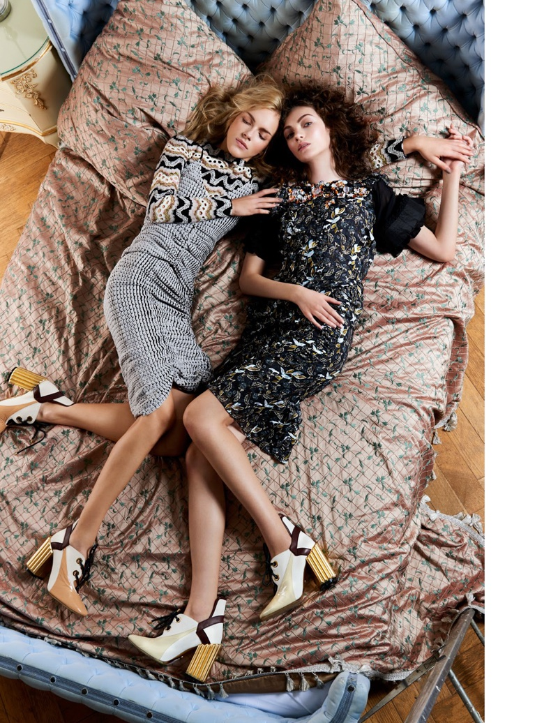 Laura Jaraminaite & Joanna Stachniak Are Two of a Kind in L'Officiel Singapore