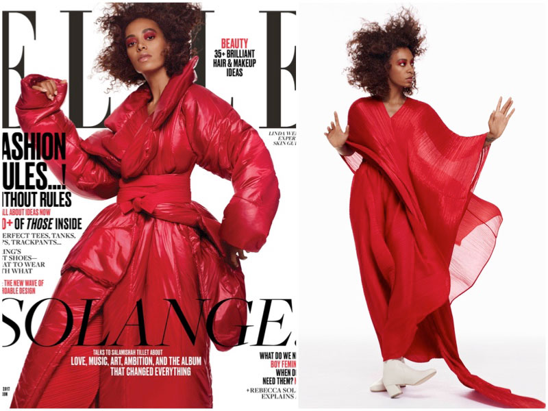 Solange Knowles Lands First ELLE Cover, Talks 'Seat at the Table'