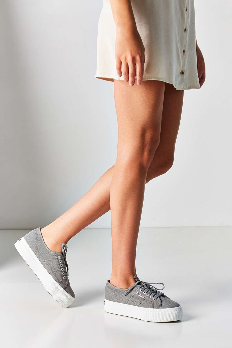 Wish List: 90's Inspired Platform Sneakers from Superga