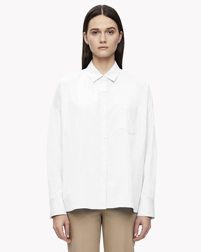 Theory Lourah Drop Shoulder Shirt