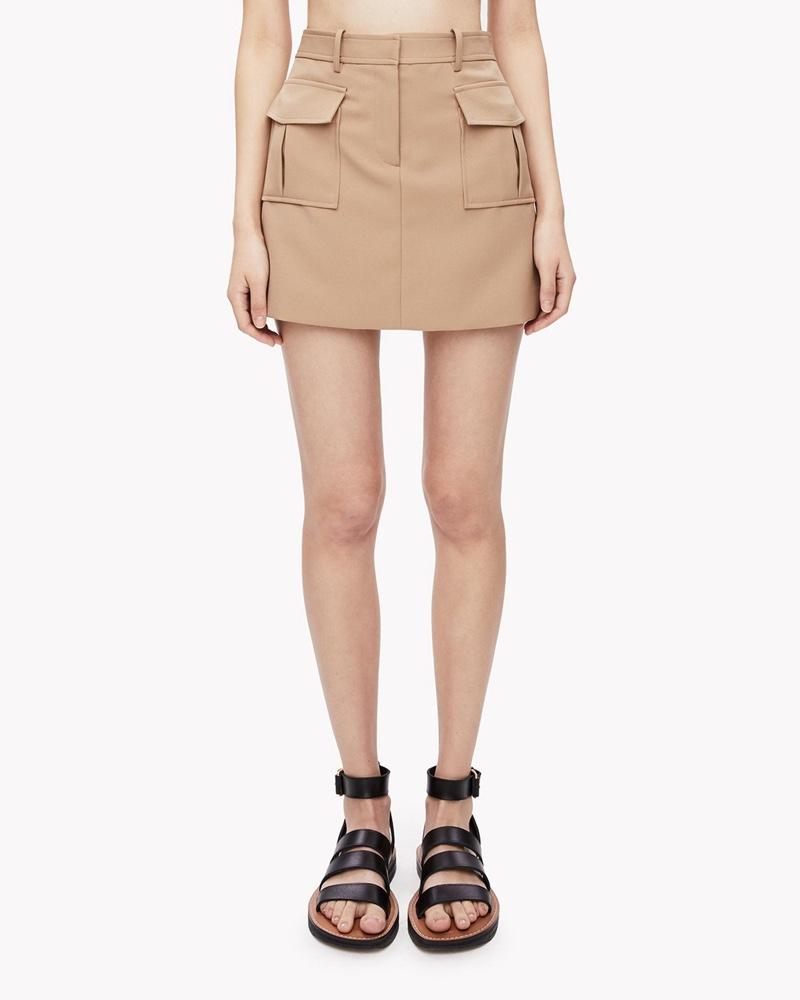 Theory Lupah Utility Skirt