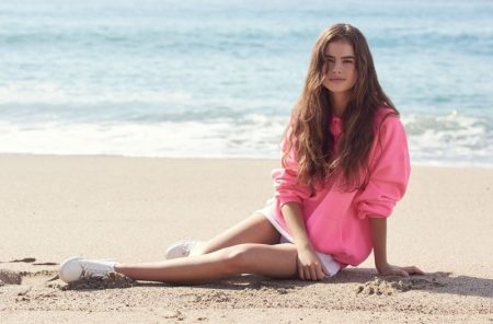 Fresh Face Lily Jean Harvey Stars in Topshop's Spring 2017 Campaign