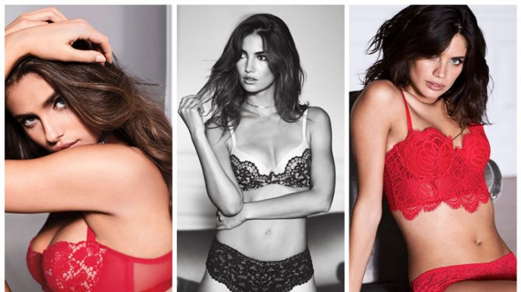 XOXO, Victoria: Victoria's Secret Angels Smolder in Valentine's Day 2017 Campaign