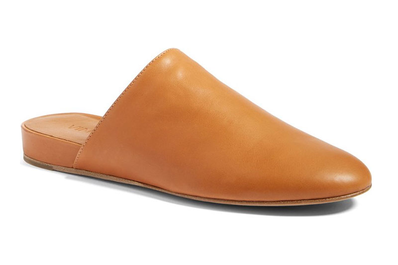 Vince Oren Leather Loafer Mule YIMMF