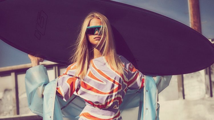 Vita Sidorkina is a Surfer Babe in Vogue Mexico