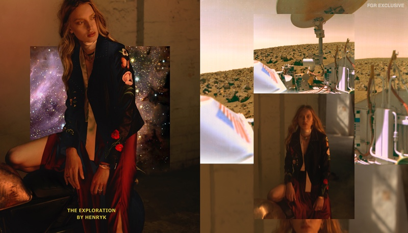 MLM Skirt, Lonely Bra, Next Jacket, Petite Grand Choker, Lucy Folk Gold Bangle, Reliquia Rings and Sash stylist's own