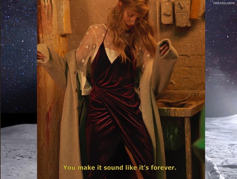 Grace Loves Lave Top, Shieke Velvet Dress and Acler Jacket
