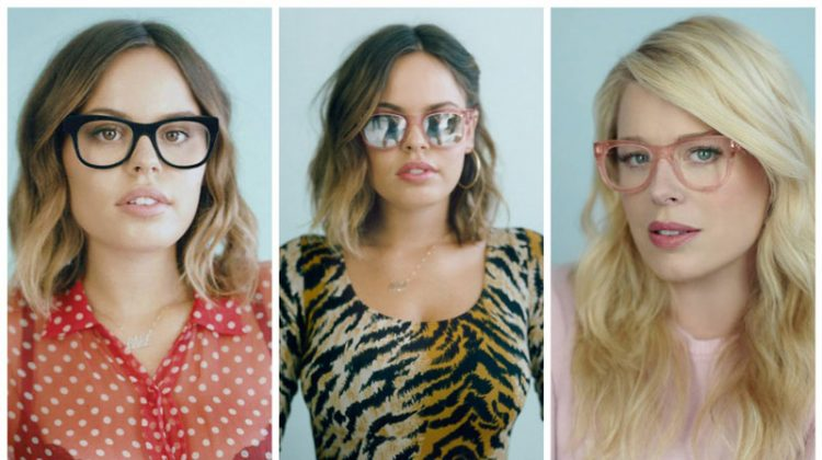 Amanda de Cadenet x Warby Parker glasses